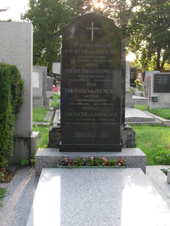 Dr. Friedrich (von) HAYMERLE