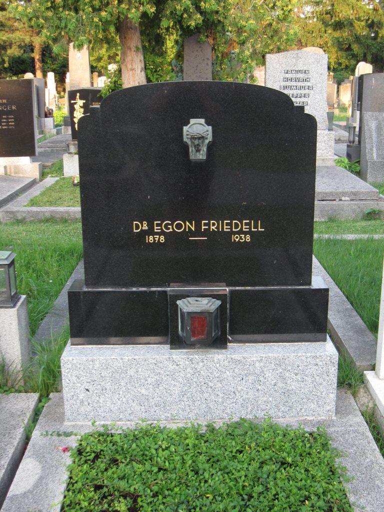 Egon FRIEDELL (eigentlich: Friedmann)