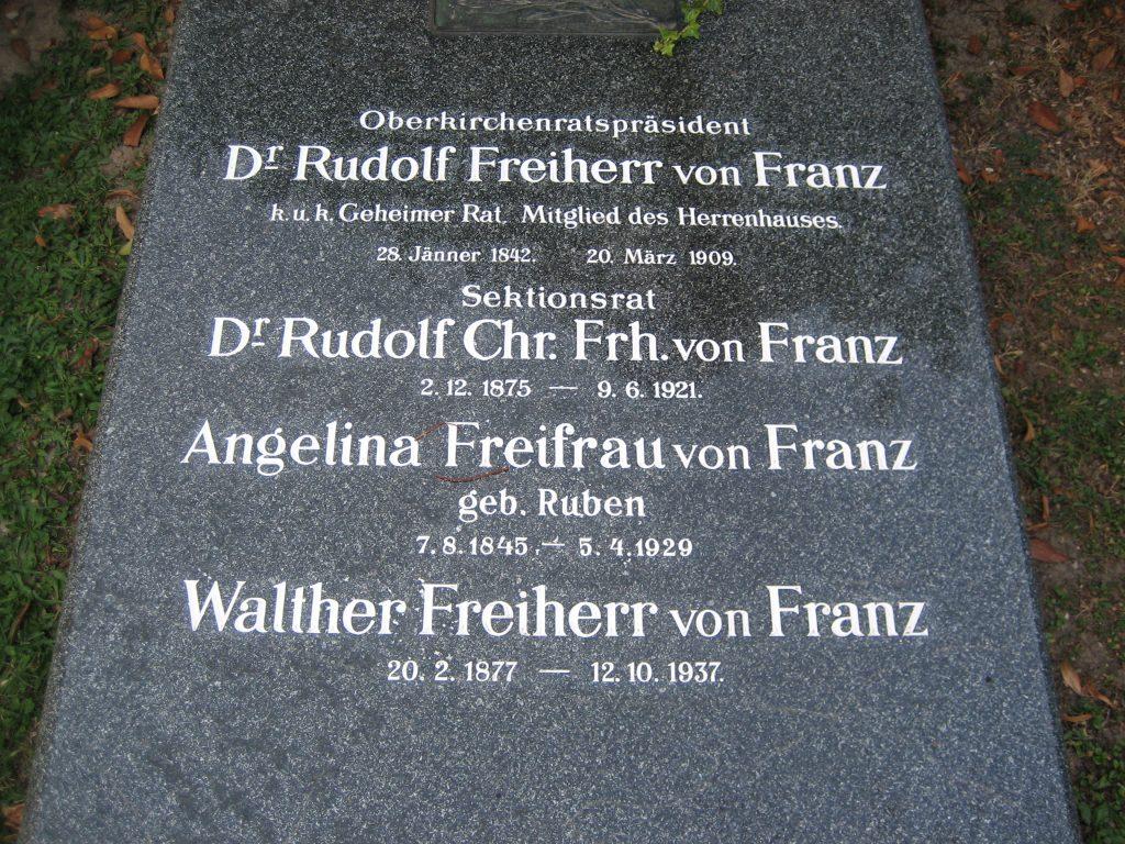 Rudolf Freiherr von FRANZ