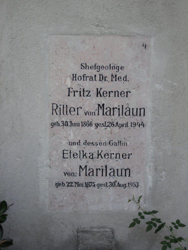 Dr. Fritz KERNER von MARILAUN
