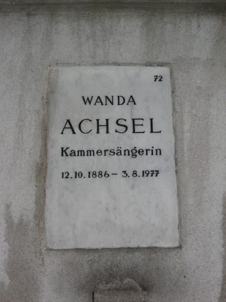 Wanda ACHSEL